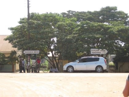 En la frontera con Tanzania